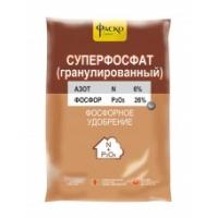 Удобрение минеральное  Суперфосфат граннулированный Фаско 1 кг