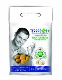 Удобрение минеральное сухое TerraSol  Картофель 5 кг