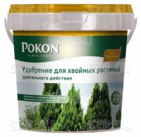 Удобрение Покон для хвойных растений длительного действия