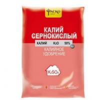 Удобрение минеральное Калий сернокислый Фаско 1 кг