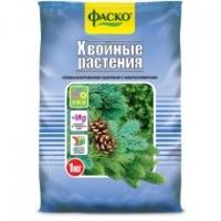 Удобрение минеральное сухое тукосмесь Хвойные растения 1 кг (Фаско)