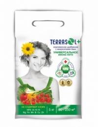 Удобрение минеральное сухое TerraSol Универсальное весна-лето 5 кг