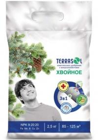 Удобрение минеральное сухое TerraSoll Хвойное 2.5 кг (